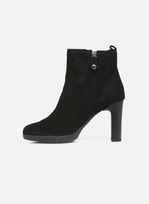 Boots en enkellaarsjes Geox DANNYAHIGH3 Zwart voorkant