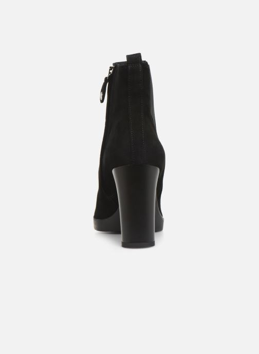 Ankle boots Geox DANNYAHIGH3 Black view from the right