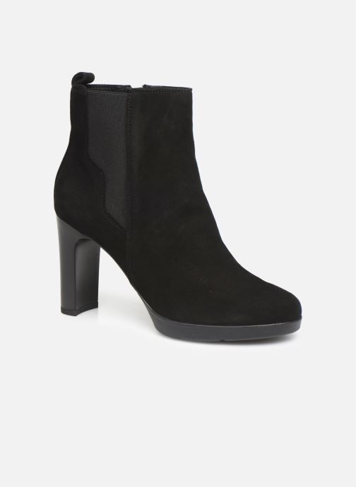 Boots en enkellaarsjes Geox DANNYAHIGH3 Zwart detail