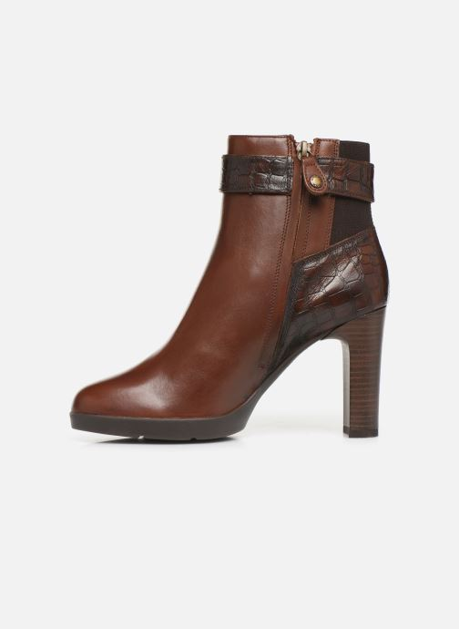 Ankle boots Geox DANNYAHIGH Brown front view