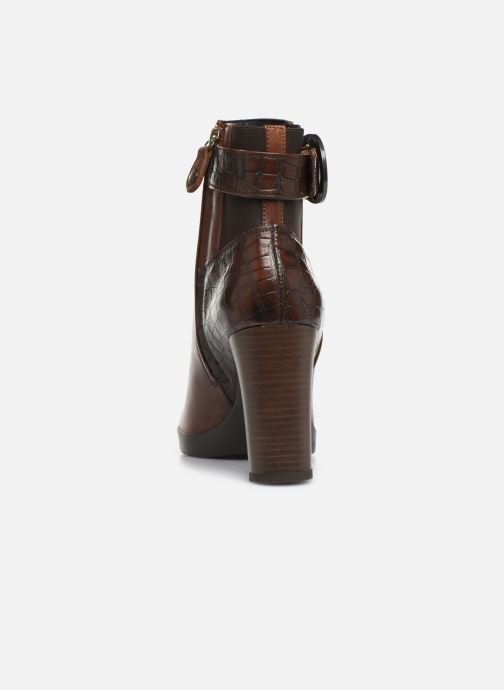Ankle boots Geox DANNYAHIGH Brown view from the right