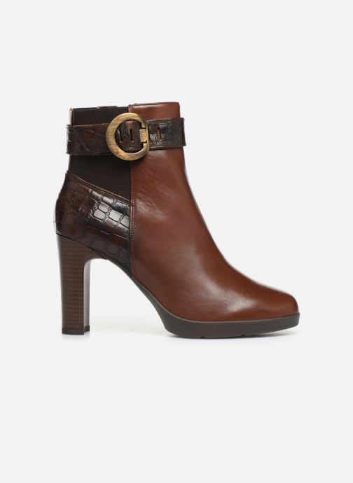 Ankle boots Geox DANNYAHIGH Brown back view