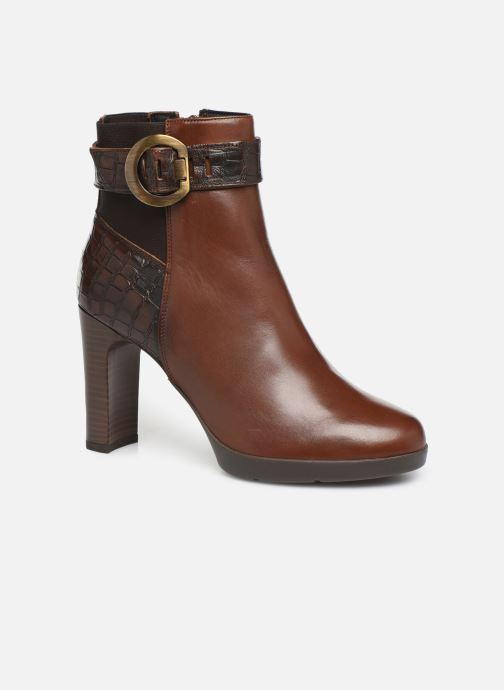 Ankle boots Geox DANNYAHIGH Brown detailed view/ Pair view