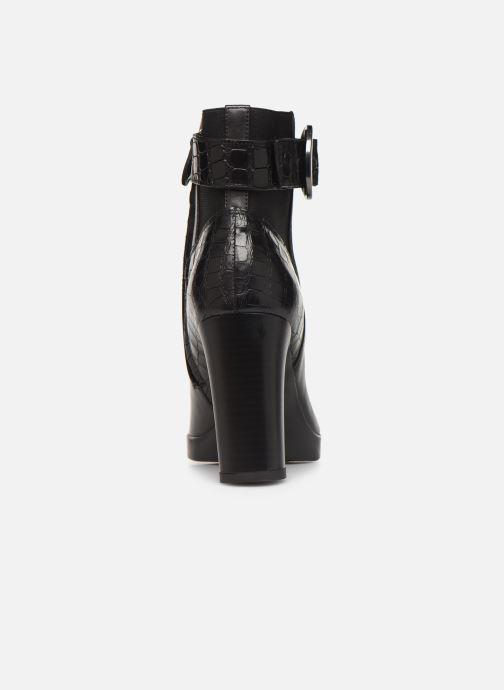 Bottines et boots Geox DANNYAHIGH4 Noir vue droite