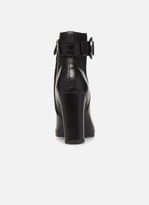 Boots en enkellaarsjes Geox DANNYAHIGH4 Zwart rechts