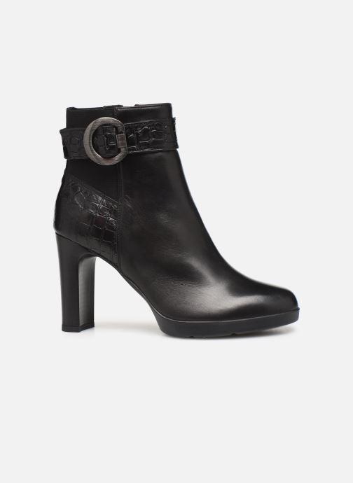 Boots en enkellaarsjes Geox DANNYAHIGH4 Zwart achterkant