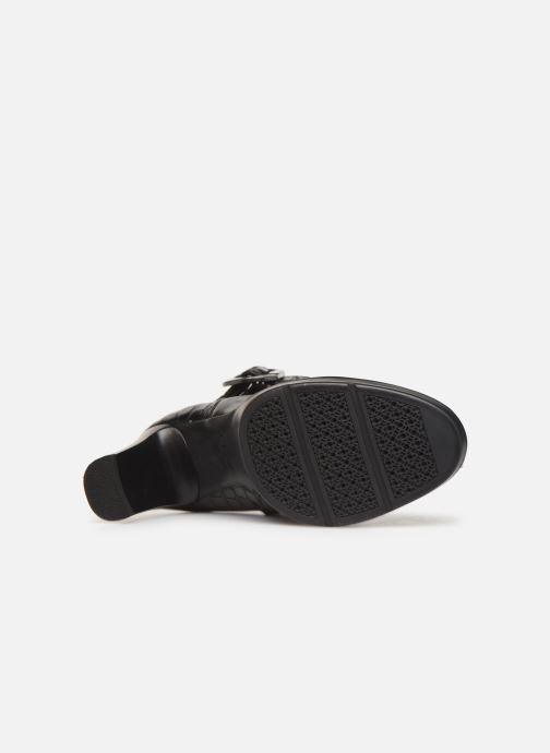 Boots en enkellaarsjes Geox DANNYAHIGH4 Zwart boven