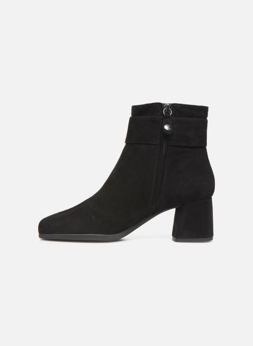 Bottines et boots Geox DCALINDAMID2 Noir vue face