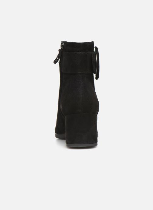 Bottines et boots Geox DCALINDAMID2 Noir vue droite