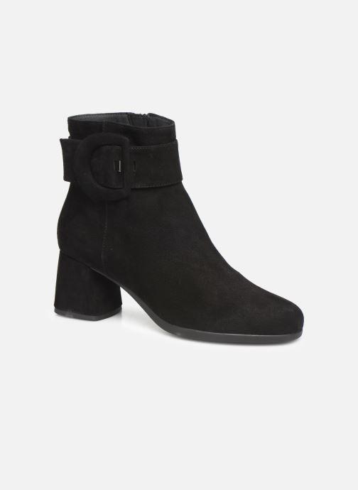 Bottines et boots Geox DCALINDAMID2 Noir vue détail/paire