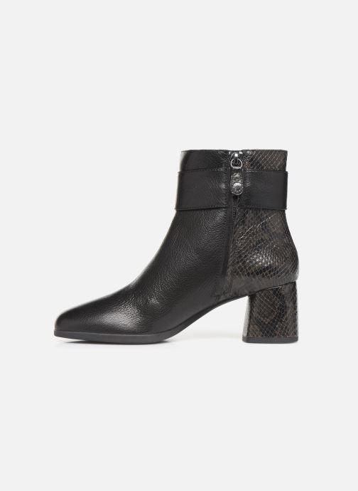 Bottines et boots Geox DCALINDAMID3 Noir vue face