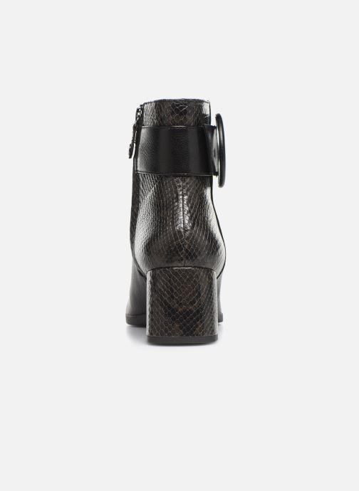Bottines et boots Geox DCALINDAMID3 Noir vue droite