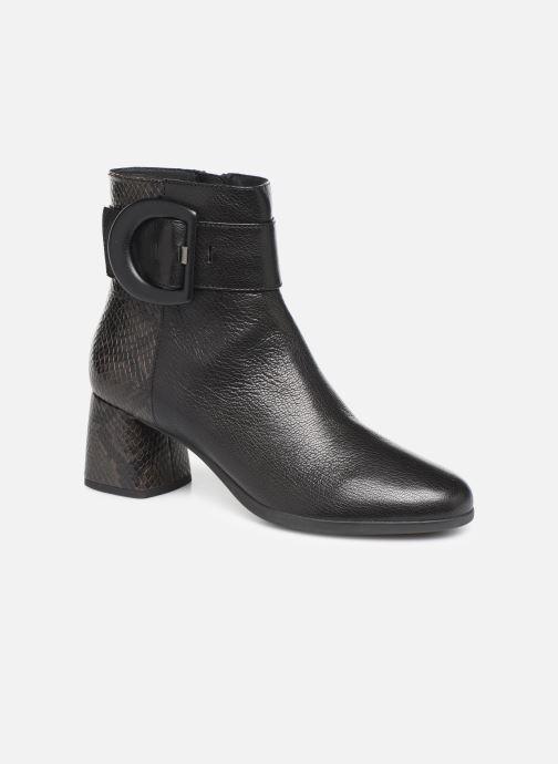 Bottines et boots Geox DCALINDAMID3 Noir vue détail/paire