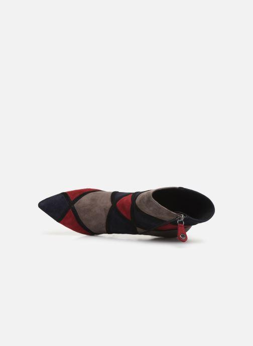 Bottines et boots Geox DFAVIOLA Multicolore vue gauche