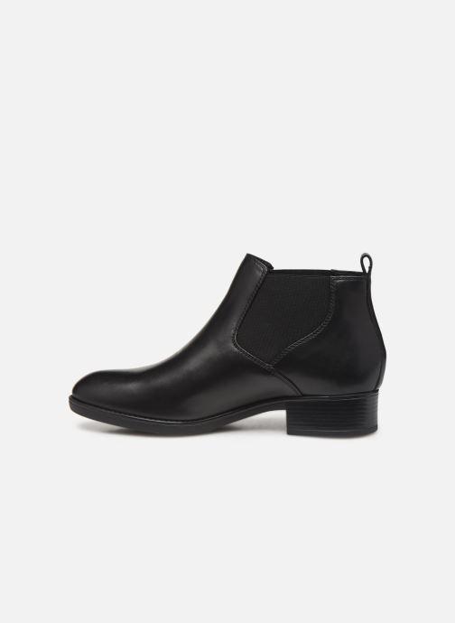 Boots en enkellaarsjes Geox DFELICITYNPABX Zwart voorkant