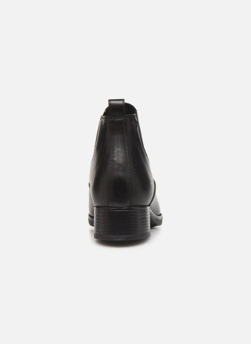 Boots en enkellaarsjes Geox DFELICITYNPABX Zwart rechts