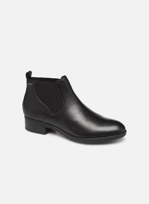 Ankle boots Geox DFELICITYNPABX Black detailed view/ Pair view