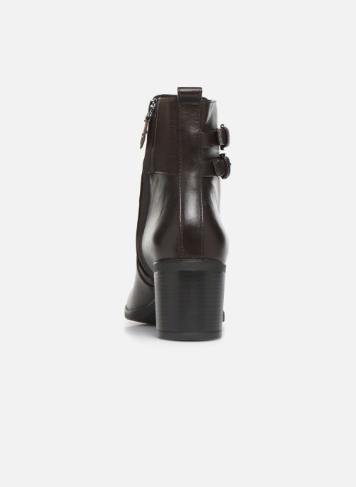 Ankle boots Geox DGLYNNA Brown view from the right