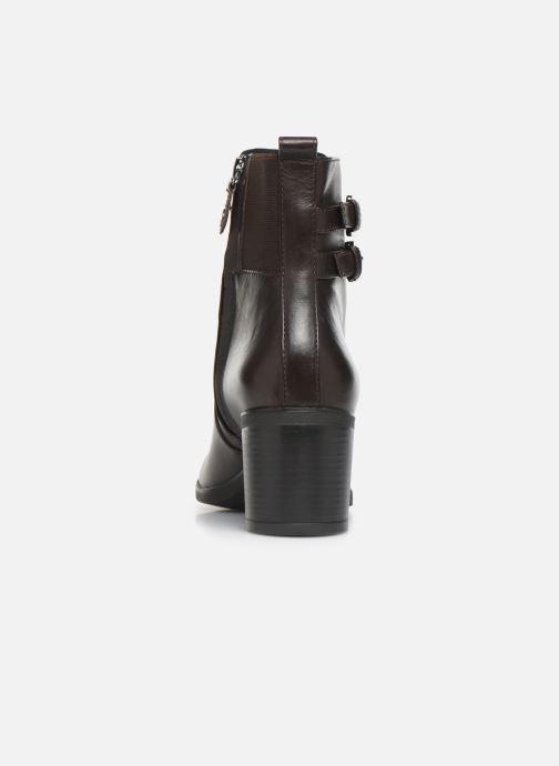 Boots en enkellaarsjes Geox DGLYNNA Bruin rechts