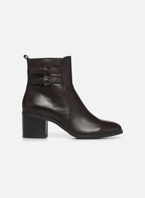 Ankle boots Geox DGLYNNA Brown back view
