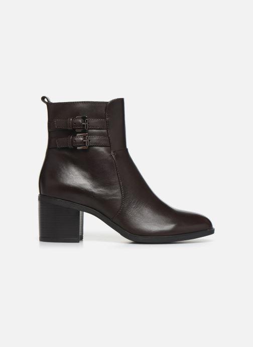 Stiefeletten & Boots Geox DGLYNNA braun ansicht von hinten