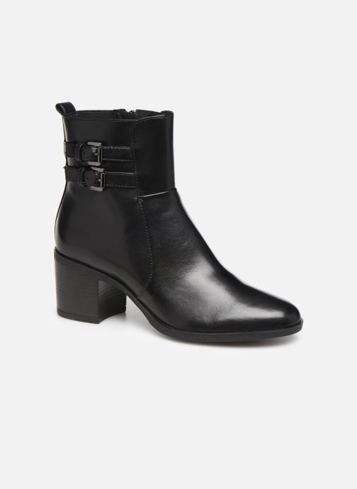 Ankle boots Geox DGLYNNA Black detailed view/ Pair view