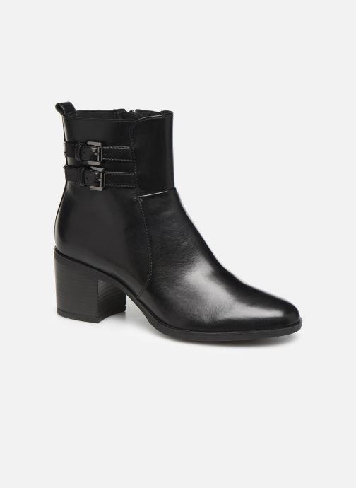 Bottines et boots Geox DGLYNNA Noir vue détail/paire