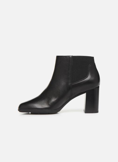 Stiefeletten & Boots Geox DNEWANNYA schwarz ansicht von vorne