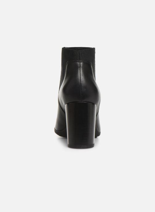Bottines et boots Geox DNEWANNYA Noir vue droite
