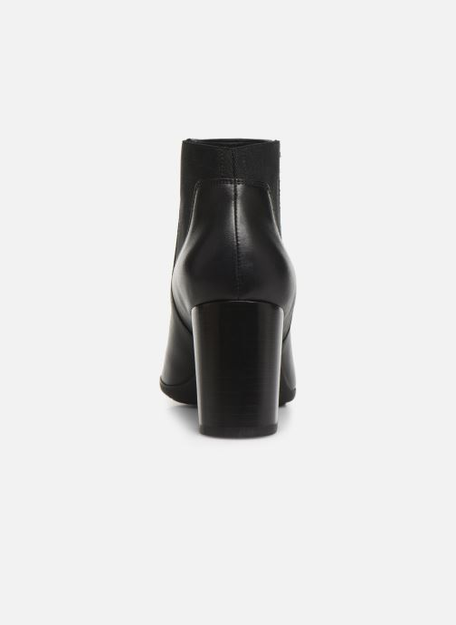 Ankle boots Geox DNEWANNYA Black view from the right