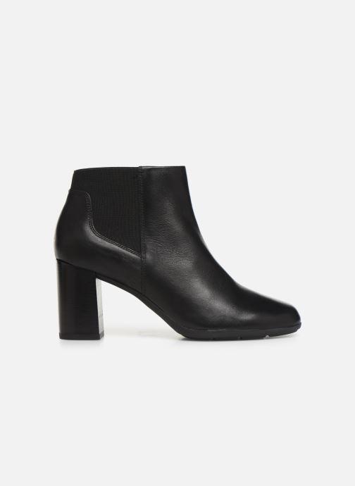 Stiefeletten & Boots Geox DNEWANNYA schwarz ansicht von hinten