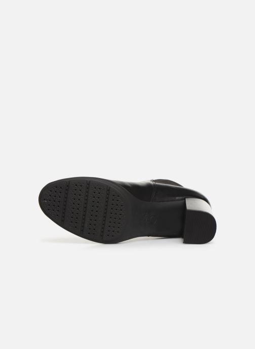 Stiefeletten & Boots Geox DNEWANNYA schwarz ansicht von oben
