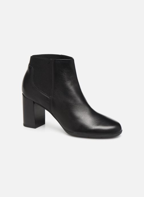 Ankle boots Geox DNEWANNYA Black detailed view/ Pair view