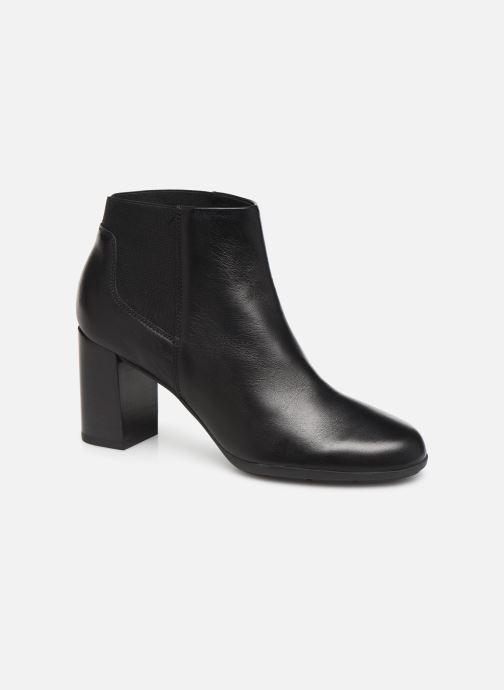 Bottines et boots Geox DNEWANNYA Noir vue détail/paire