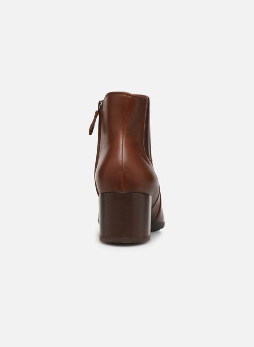Bottines et boots Geox DNEWANNYAMID Marron vue droite