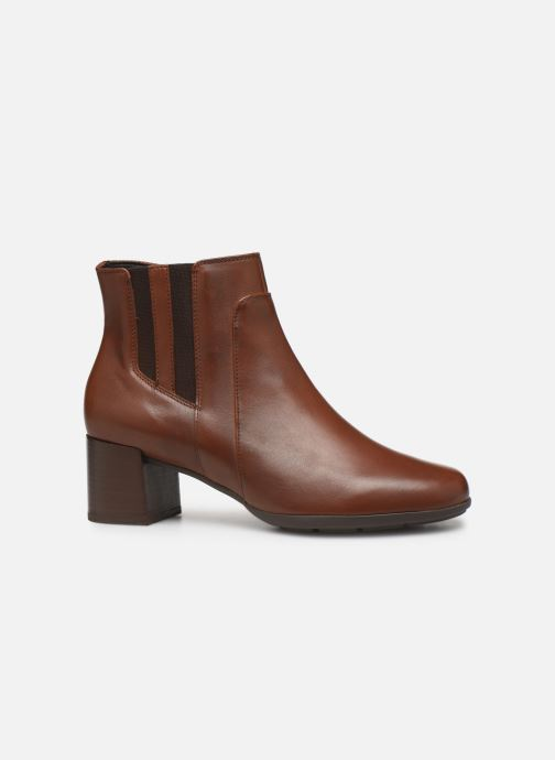 Boots en enkellaarsjes Geox DNEWANNYAMID Bruin achterkant