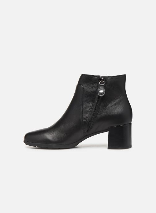 Boots en enkellaarsjes Geox DNEWANNYAMID Zwart voorkant