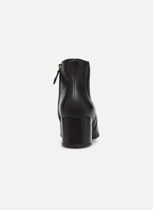 Boots en enkellaarsjes Geox DNEWANNYAMID Zwart rechts