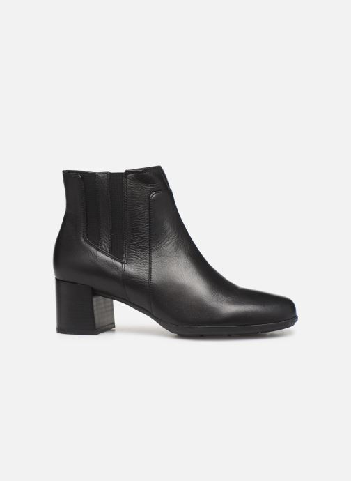 Boots en enkellaarsjes Geox DNEWANNYAMID Zwart achterkant