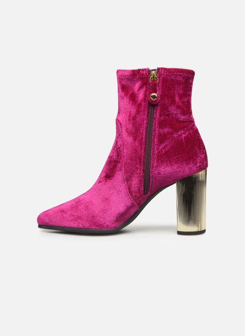 Boots en enkellaarsjes Geox DPEYTHONHIGH Roze voorkant