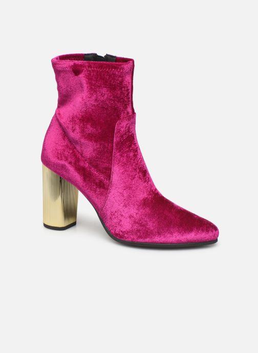 Bottines et boots Geox DPEYTHONHIGH Rose vue détail/paire