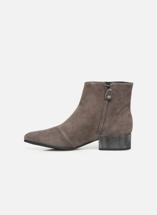 Ankle boots Geox DPEYTHONLOW Grey front view