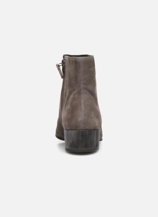 Bottines et boots Geox DPEYTHONLOW Gris vue droite