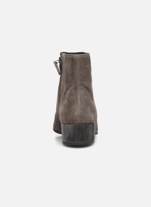 Ankle boots Geox DPEYTHONLOW Grey view from the right