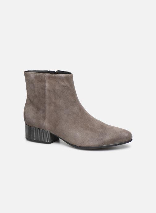 Bottines et boots Geox DPEYTHONLOW Gris vue détail/paire