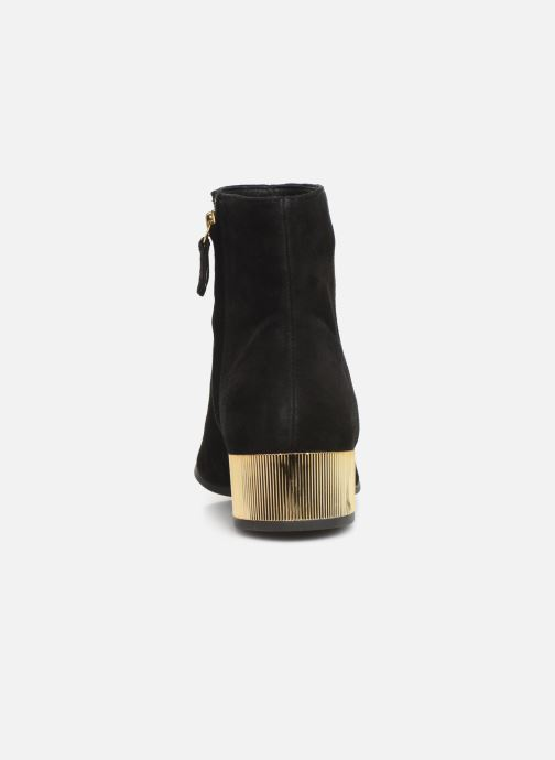 Ankle boots Geox DPEYTHONLOW Black view from the right