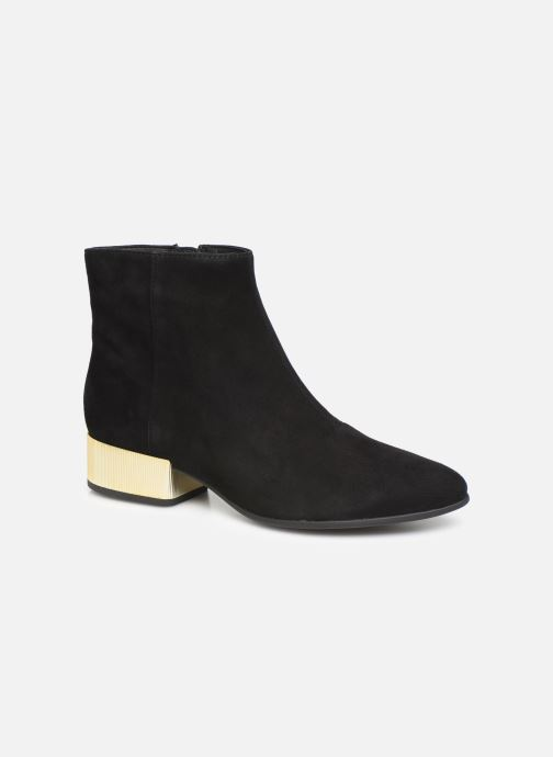 Ankle boots Geox DPEYTHONLOW Black detailed view/ Pair view