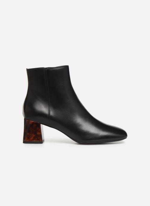 Boots en enkellaarsjes Geox DSEYLA2 Zwart achterkant