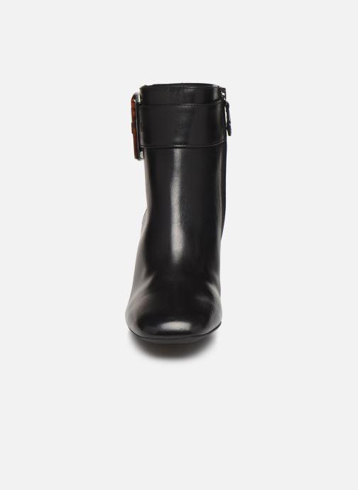 Bottines et boots Geox DSEYLAHIGH2 Noir vue portées chaussures