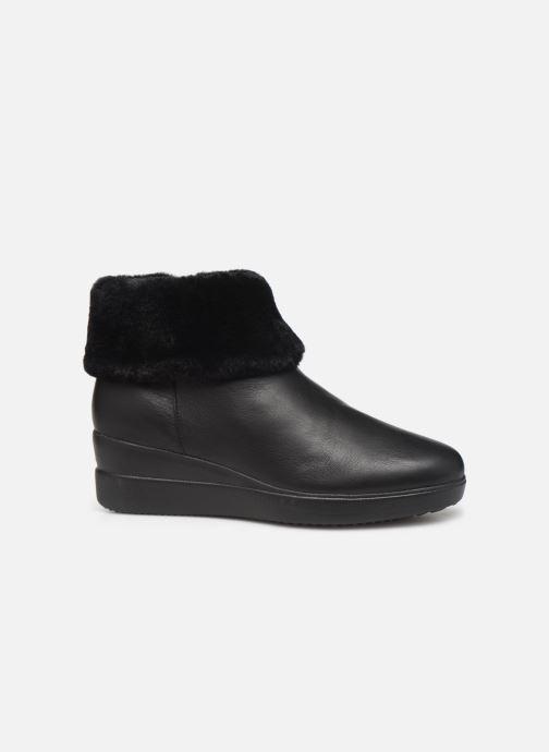 Boots en enkellaarsjes Geox DSTARDUST Zwart achterkant